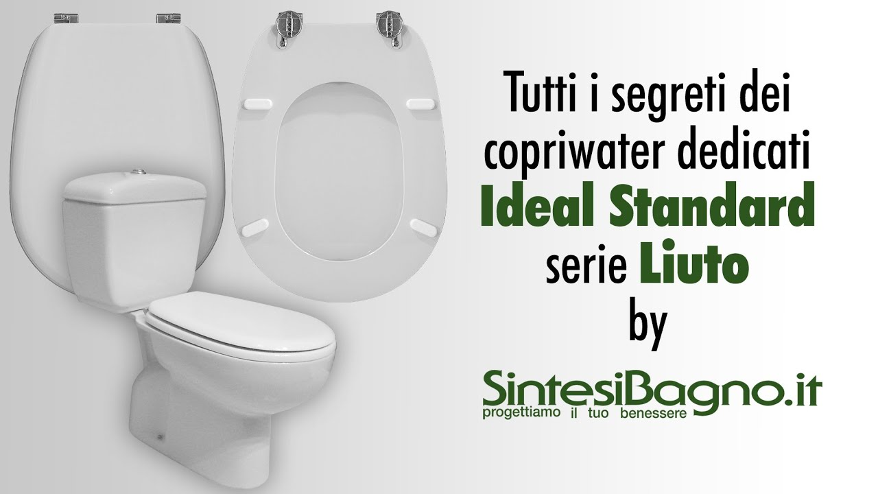 copriwater ideal standard liuto sedili wc dedicati youtube