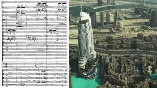 partitura de bacanal bacchanale sheet music samson et dalila saint saëns