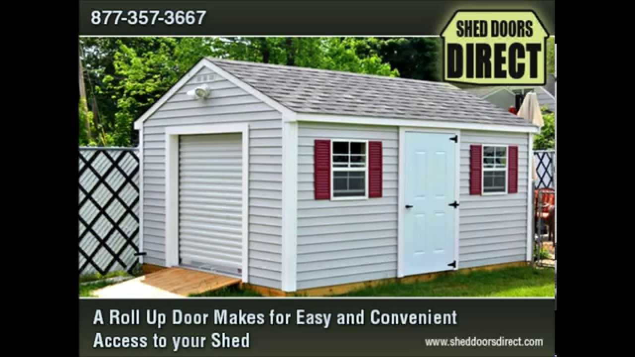 Roll Up Doors, Garage Doors, Commercial Doors - YouTube