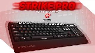 Ozone Strike Pro - Solidna klawiatura mechaniczna na Cherry MX Test i recenzja