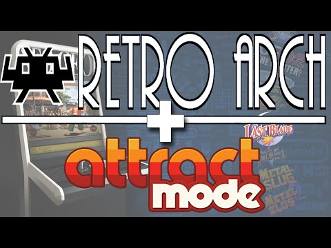 Configurando o Retroarch no Attract Mode - YouTube