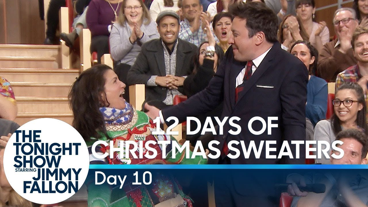 12 Days of Christmas Sweaters 2019: Day 12 YouTube