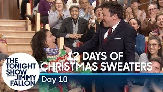 12 Days of Christmas Sweaters 2019:Day 10