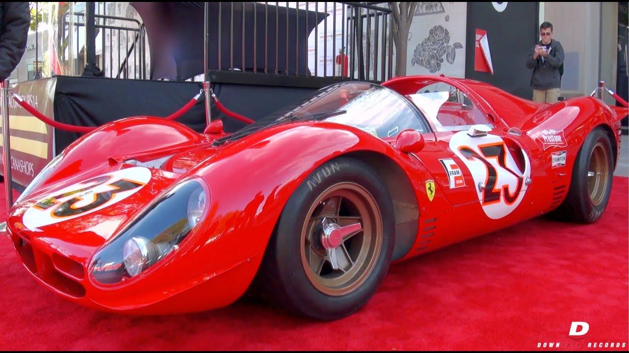 Authentic 1967 Ferrari 330 P3 4 Sound 0846 Youtube