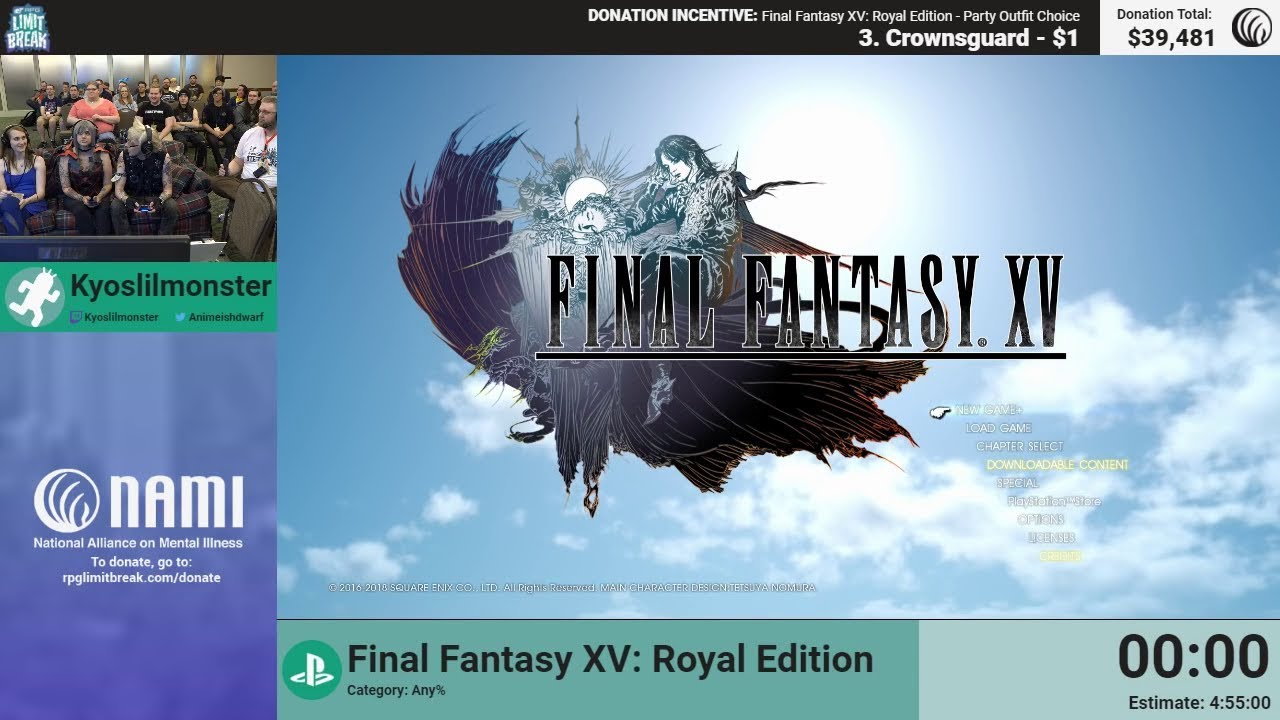 Final Fantasy Xv Royal Edition By Kyoslilmonster Rpg Limit Break Breaker Load Http Www Shopping Com Square Enix D Co 2018 Part 19