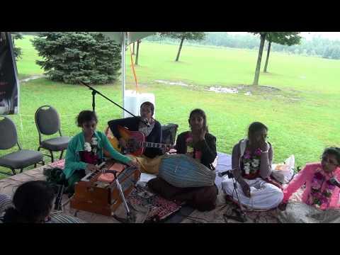 ISKCON Scarborough- 1st Jagannath Cultural Festival - Bhajan and Kirtan by Radha Murari Group
