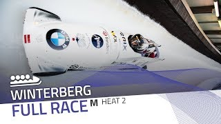 Winterberg | BMW IBSF World Cup 2019/2020 - 4-Man Bobsleigh Race 1 (Heat 2) | IBSF Official