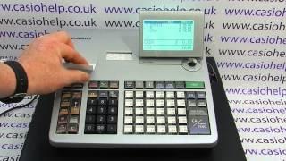 Casio SE-S3000 SE-S400 SE-S800 PCR-T500 PCR-T520 How To Issue Copy Receipt