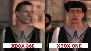 assassins creed 2 graphics comparison xbox 360 vs xbox one