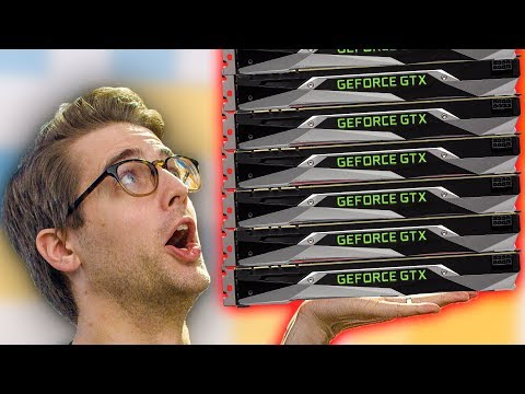 This PC runs 16 Tesla GPUs!