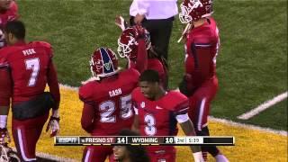 Fresno State Football Highlights vs Wyoming