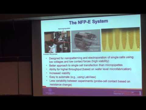"Horatio Espinosa ""Fluidic Nanoprobes for In Vitro Single Cell Studies"""