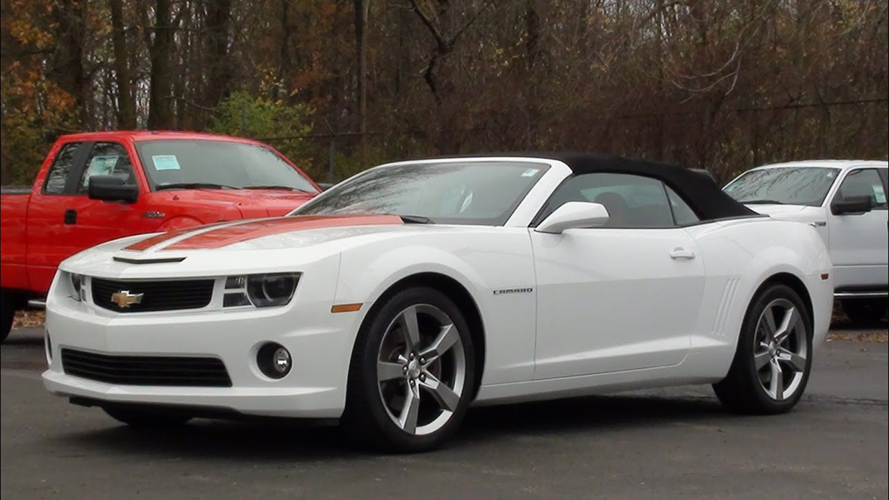 Mvs 2012 Chevrolet Camaro Ss Convertible Youtube