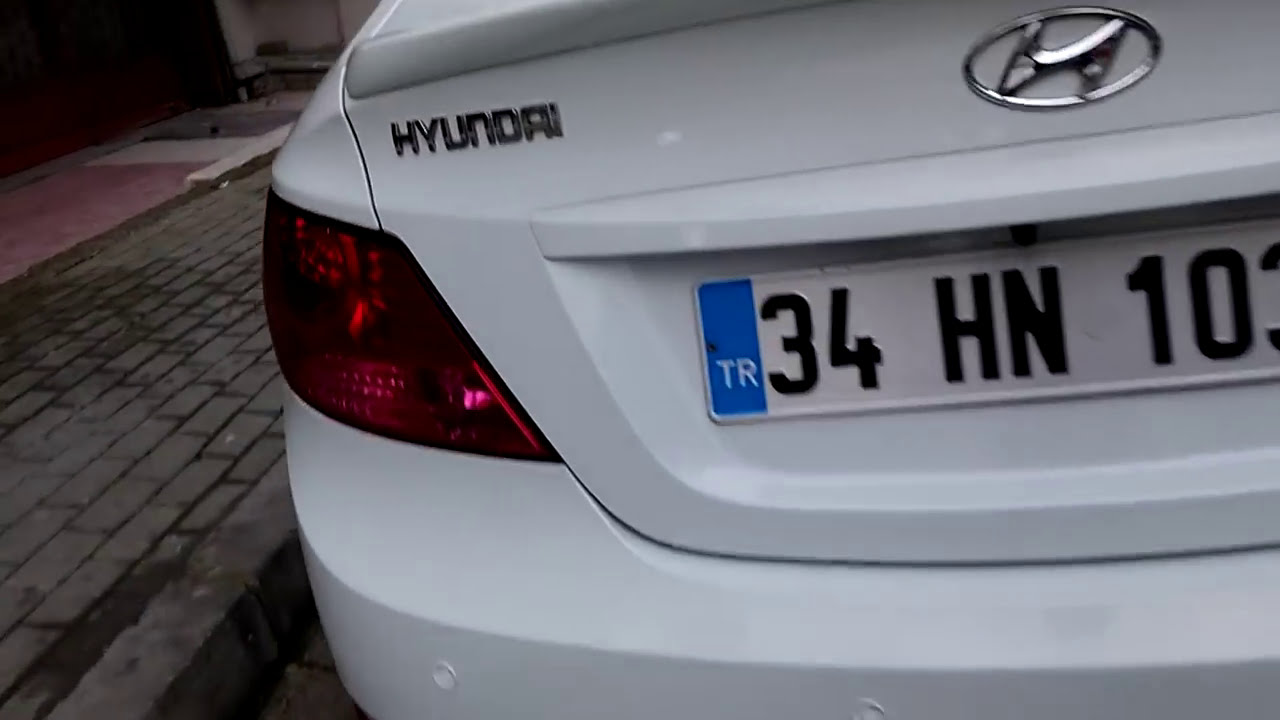 NCELEME  Hyundai Accent Blue n inceleme  YouTube