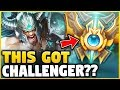 WTF? HOW DID THIS TRYNDAMERE BUILD REACH CHALLENGER? HOW IS THIS EVEN POSSIBLE! - League of Legends