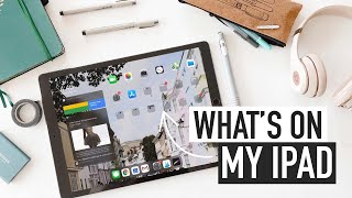 what's on my iPAD PRO (best apps for digital note-taking & work)