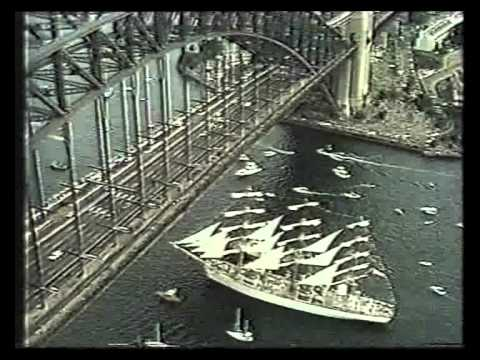 Dar Mlodziezy 1988 in Sydney.avi
