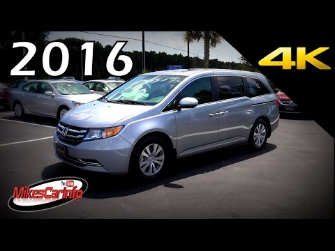 2016 Honda Odyssey Ex L Ultimate In Depth Look 4k