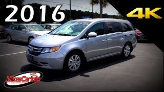 2016 Honda Odyssey EX-L - Ultimate In-Depth Look in 4K