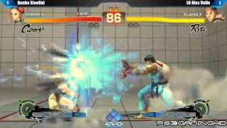 EVO 2K13: SSF4 AE Alex Valle (Ryu) vs XiaoHai (Cammy) [HD]