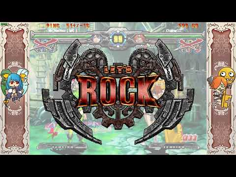 Guilty Gear XX Accent Core Plus R - Mr_NevNev (Dizzy)(DI)VS Chainer22 (ABA Robo-Ky) Part 1 |