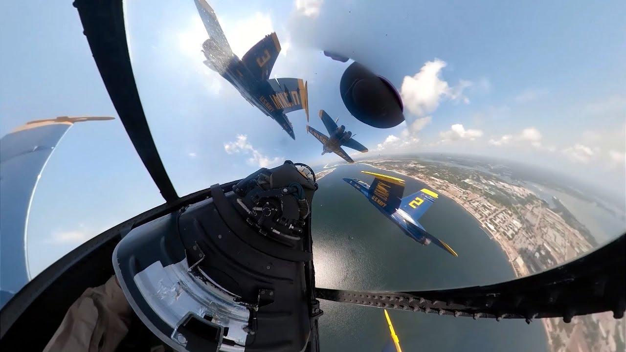 Blue Angels Flight - 360 Degree