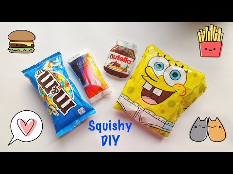 🎾 PAPER SQUISHY DIY! 🎾How to make squishy.🎾Anti stress toy DIY🎾