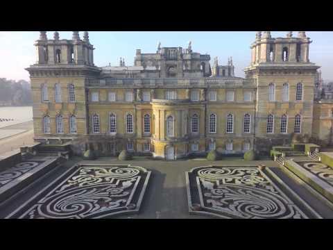 Blenheim Palace Under Frost (4K)