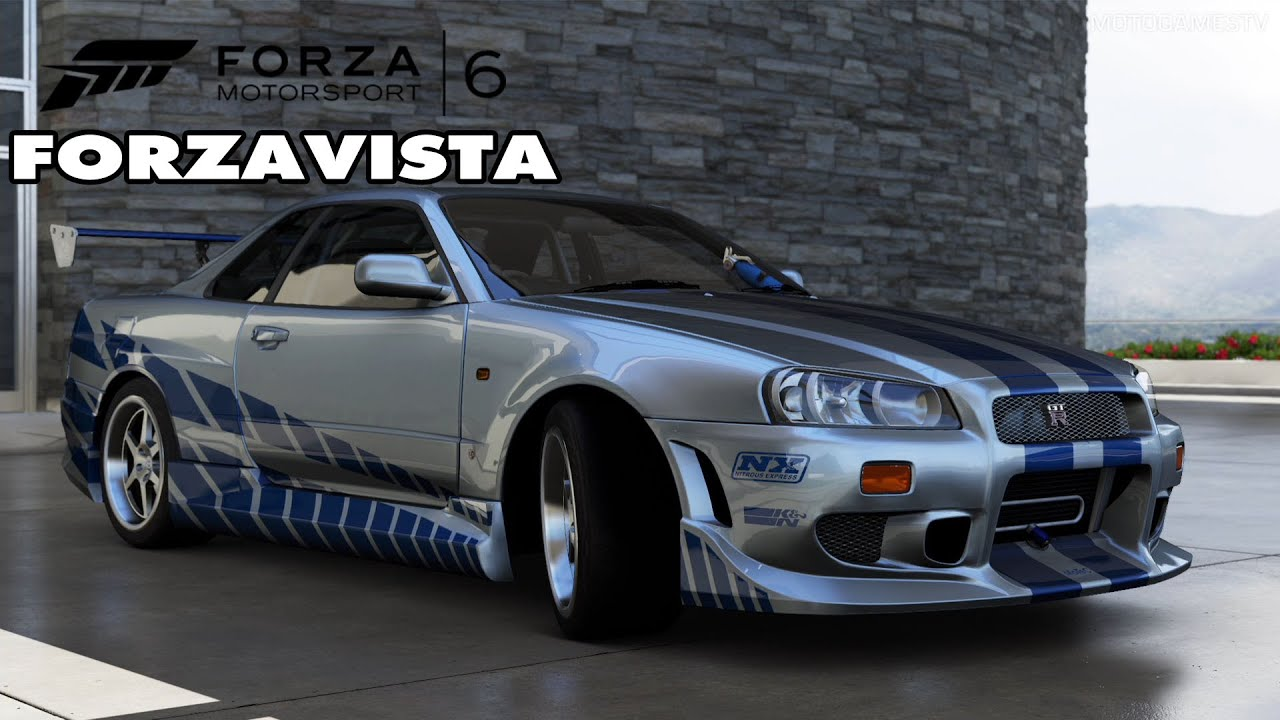 forza motorsport 6 - nissan skyline gt-r fast & furious edition