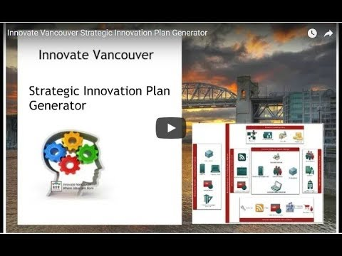 Strategic Plan Generator - Innovate Vancouver