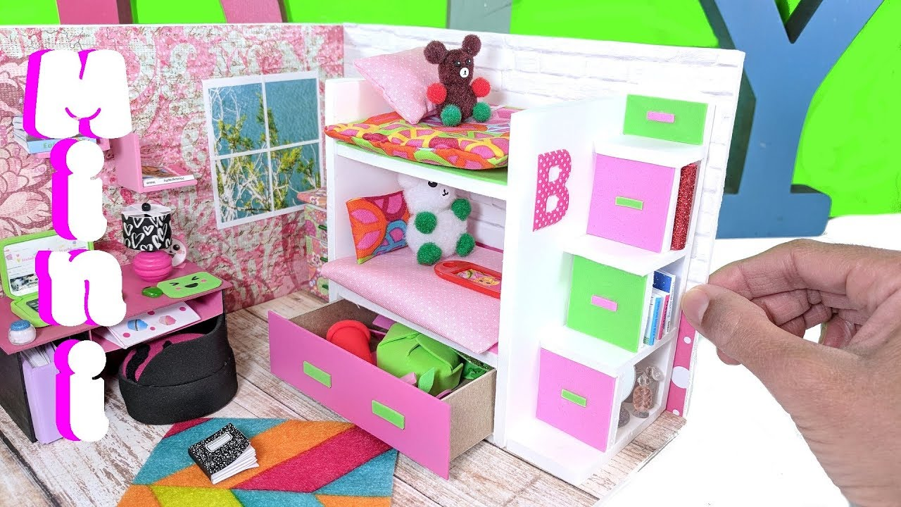 Diy Rooms For Lol Dolls Easy Craft Ideas