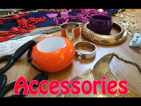 JEWELLERY/ACCESSORIES HAUL: DIANA BROUSSARD, HERMES, CHANEL, LANVIN, VERSACE & SO MUCH MORE!!!!