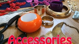 JEWELLERY/ACCESSORIES HAUL: DIANA BROUSSARD, HERMES, CHANEL, LANVIN, VERSACE & SO MUCH MORE!!!! Thumbnail