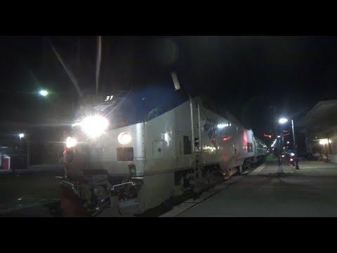 Night Time Railfanning on the BNSF Mendota Subdivision