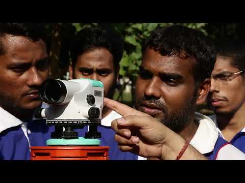 land surveyor training institute, total station training