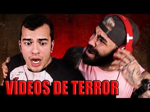 OS VÍDEOS DE TERROR MAIS ASSUSTADORES DA INTERNET