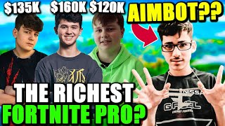 FaZe Sway AIMBOT Prank! Fortnite Pros Make $100K a MONTH.. More than TFUE! Fortnite Calls out Apple!