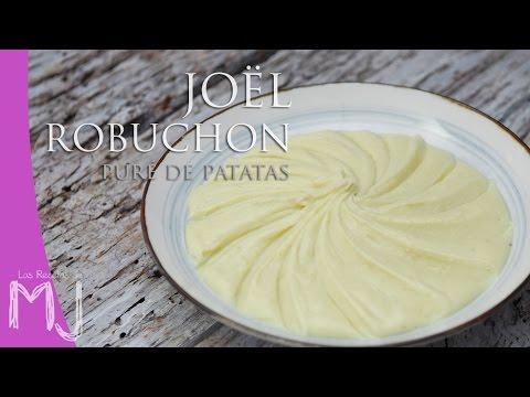 PURÉ DE PATATAS DE JOËL ROBUCHON | Una guarnición con estrella