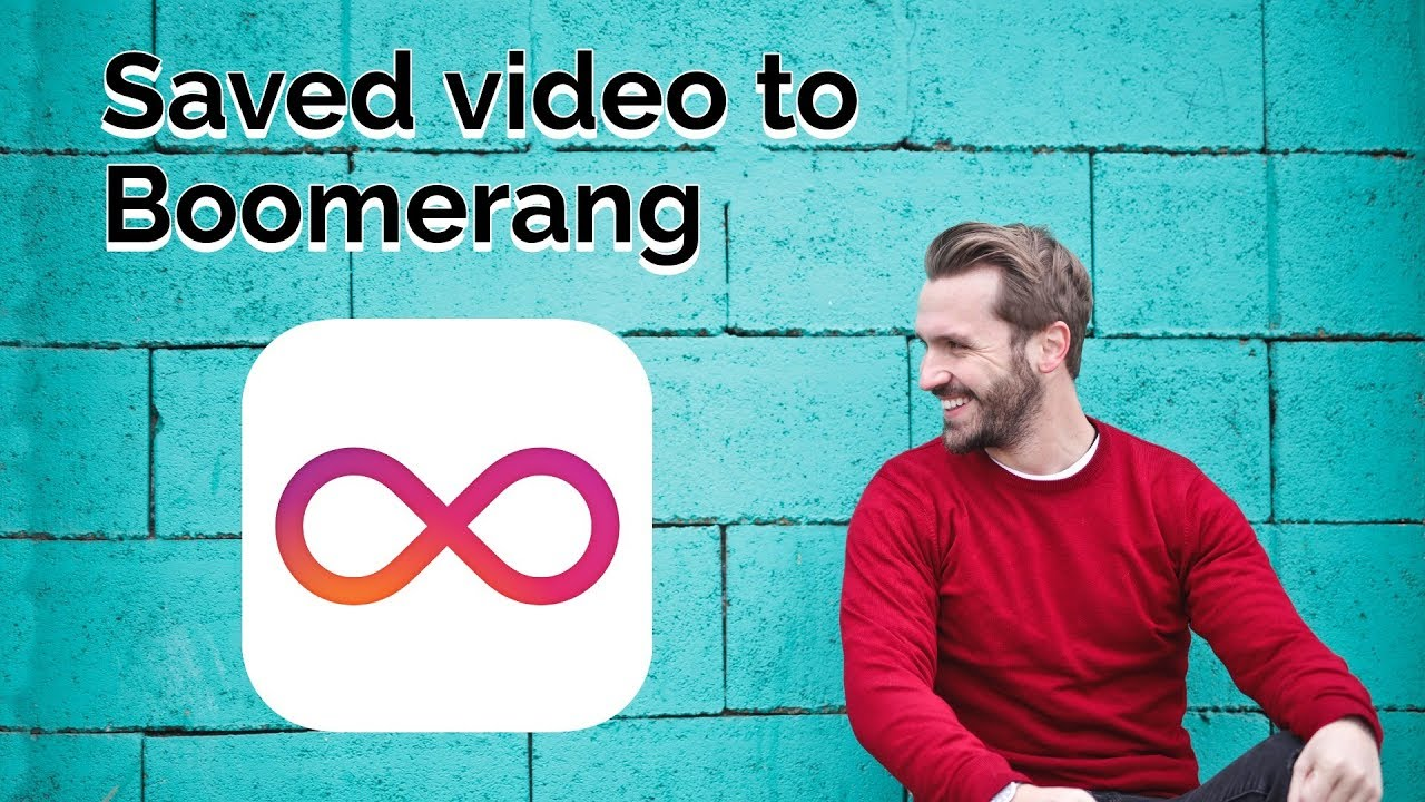 Can you make a boomerang video from an existing video
