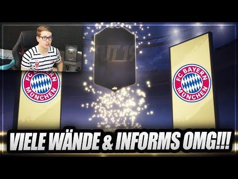 FIFA 19: WIR ZIEHEN VIELE WÄNDE & INFORMS Im PACK OPENING!! 🔥🔥 - FIFA 19 Ultimate Team (Deutsch)