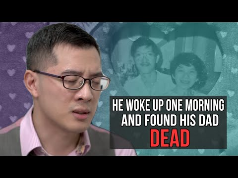 He woke up one morning and found his dad dead