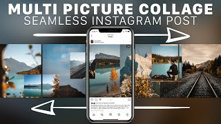 Easy SEAMLESS Instagram Carousel Collage! screenshot 4