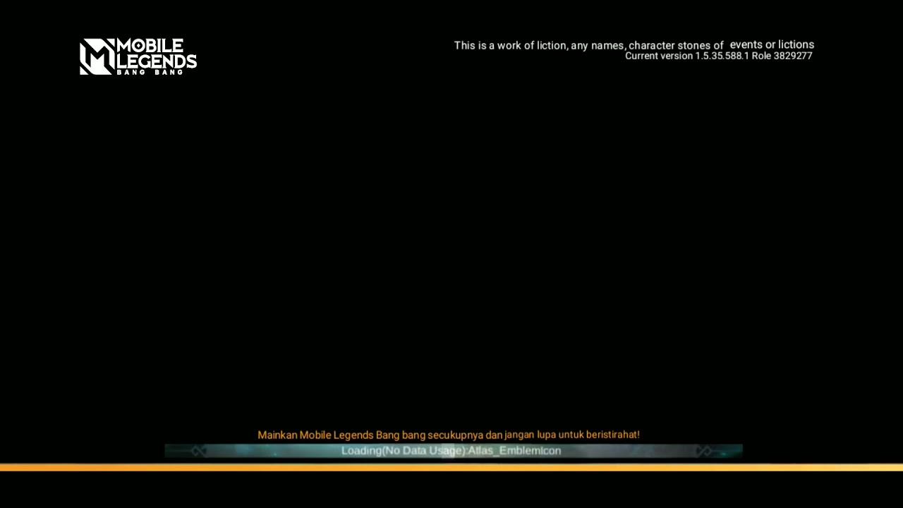 ML loading screen