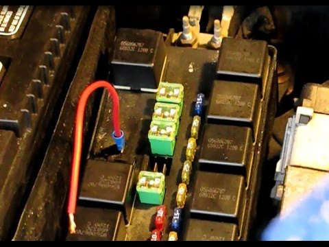 2006 pt cruiser fuse box when your car won   t crank or start part 3 how to check  when your car won   t crank or start part 3 how to check