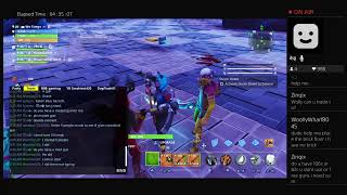 Fortnite Save The World Live Giveaway rn!!!!!!!