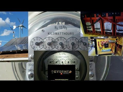 Homes With Solar Photovoltaic Electric Power & Homes Without Solar PV Electric Power By KVUSMC