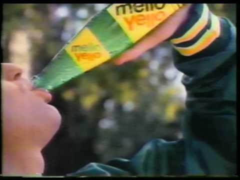 Mello Yello soda drink classic tv commercial 1980