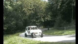 extreme voiturette turbo r6 yamaha montée des graviers 2011