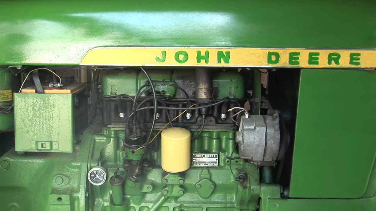 john deere 1010 start up youtube rh youtube com john deere 2010 tractor wiring john deere 1010 tractor specifications [ 1280 x 720 Pixel ]