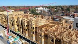 Ash Street Apartments Timelapse Video